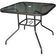 35 inch(s)  Empress Square Tempered Glass Top Dining Table