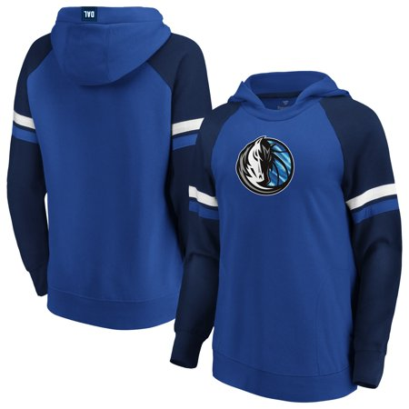 Dallas Mavericks Fanatics Branded Women's Iconic Best in Stock Pullover Hoodie - Blue/Navy