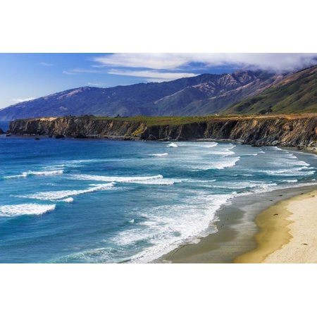 Sand Dollar Beach Los Padres National Forest Big Sur