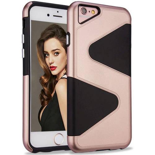 "KIKO Wireless S-Style Double Hybrid Case for Apple iPhone 7 Plus, 5.5"""