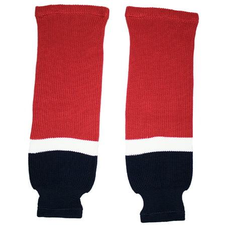 Washington Knit Hockey Socks (Red)