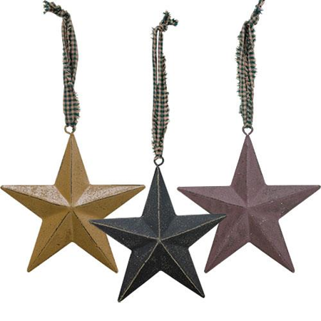 Primitive Star Ornament 4.5
