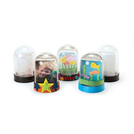 Colorations Create Your Own Snow Globe - Set of 12 (Item # - Make Your Own Snow Globe