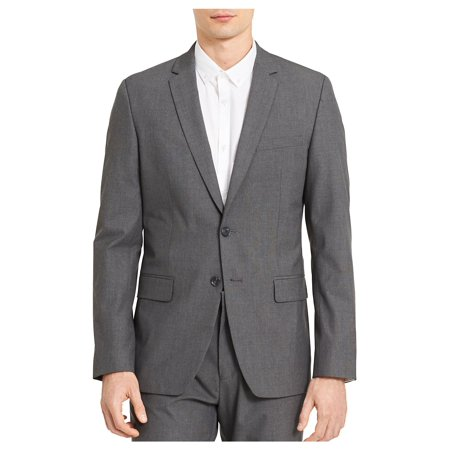 Textured Slim-Fit Sportcoat (Calvin Klein X Slim Fit Suit Grey)