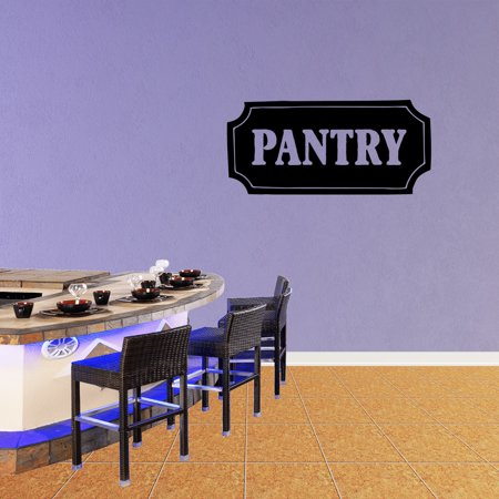 Pantry Vinyl Wall Decal Quote Funny Kitchen Sticker Sinning Room Decor Xj440