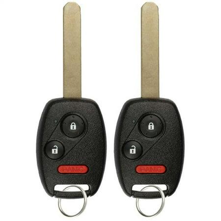 Honda Keyless Remote Programming Instructions - 2 PACK KeylessOption Keyless Entry Remote Control Car Key Fob Replacement CWTWB1U545 for 2005-2008 Honda Pilot