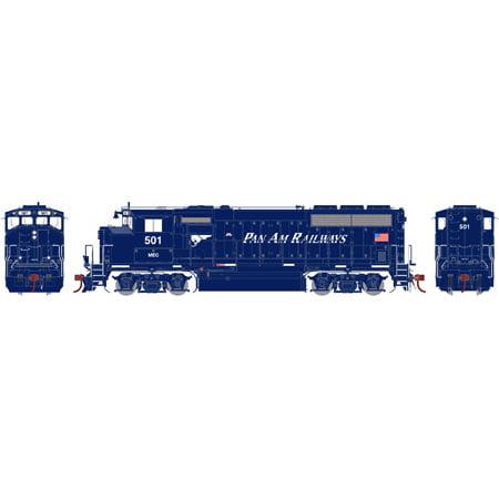 Athearn G40993 HO MEC/Pan Am GP40-2L with DCC & Sound #501