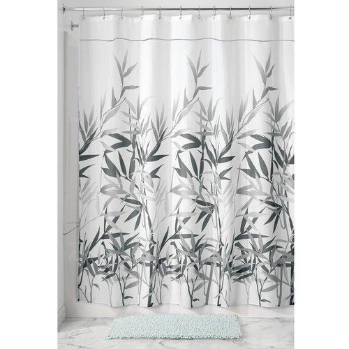 "interdesign anzu fabric shower curtain, stall, 54"" x 78"" - walmart"