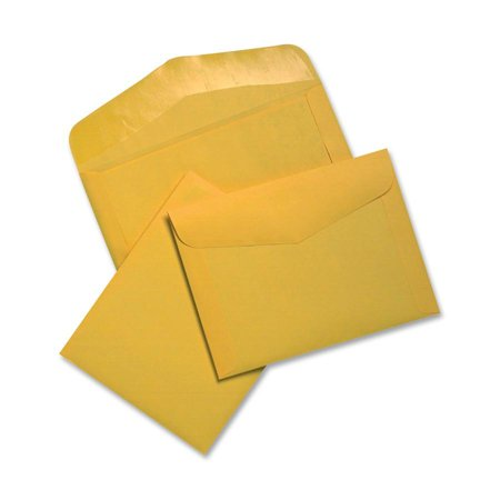 Printed Document Enclosed Envelopes (Quality Park, QUA54301, Extra Heavyweight Document Envelopes, 100 / Box, Brown)