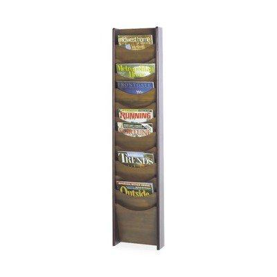 Safco 12 Pocket Wall Mount Literature Display SAF4331MH