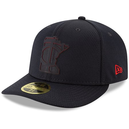 Minnesota Twins New Era 2019 Clubhouse Collection Low Profile 59FIFTY Fitted Hat - Black (Minnesota Twins Clubhouse)