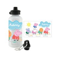 Personalized Peppa Pig Hopscotch Friends Water Bottle