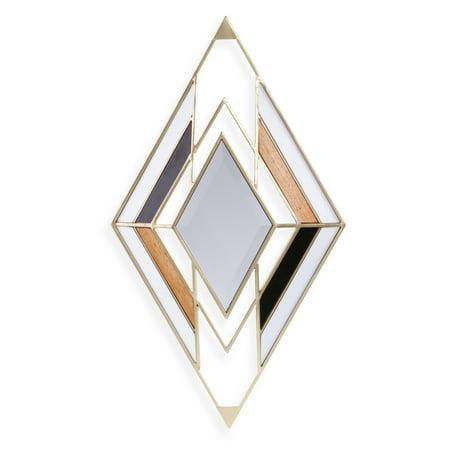 Tosklin Vintage-Style Decorative Mirror ()