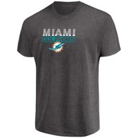 Product Image Men s Majestic Heathered Charcoal Miami Dolphins Come Into  Play T-Shirt aad33373b