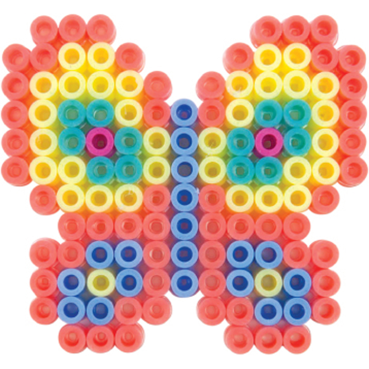 Perler Fused Bead Kit-Pastel Butterfly