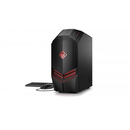 HP OMEN 880-021 Gaming Desktop - AMD Ryzen 5 1400 3 20 GHz - 888 GB DDR4  SDRAM - 1 TB HDD + 128 GB SSD - NVIDA GeForce GTX 1060 - Windows 10 Home