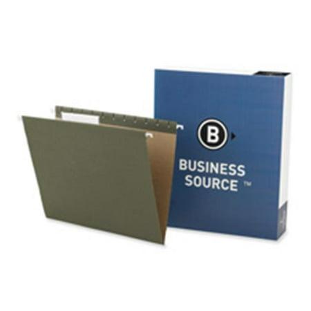 - Business Source 1/3 Cut Standard Hanging File Folders - Letter - 8 1/2