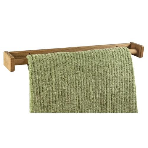 SeaTeak Wall Mounted Towel Rack