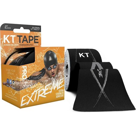 5fc4347b38 Pro Extreme Therapeutic Elastic Kinesiology Sports Tape, 20 Pre cut 10 inch  Strips, 100