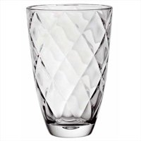 Majestic Gifts E63327-US Concerto 9.5 in. High Quality Glass Vase