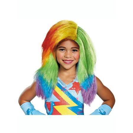 My Little Pony: Child Rainbow Dash Movie - My Little Pony Wig