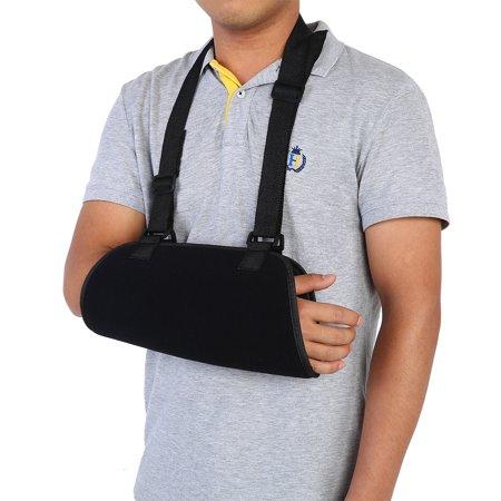 (WALFRONT Arm Sling Shoulder Immobilizer Arm Support Brace Wrist Sprain Forearm Fracture Fixation Strap,Arm Sling, Arm Support Brace)