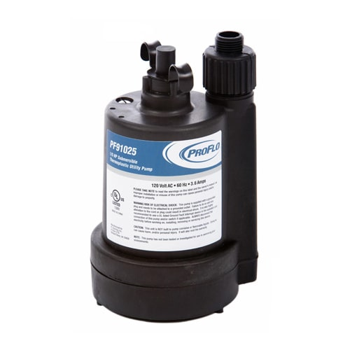 ProFlo PF91025 1/5 HP Thermoplastic Submersible Utility Pump