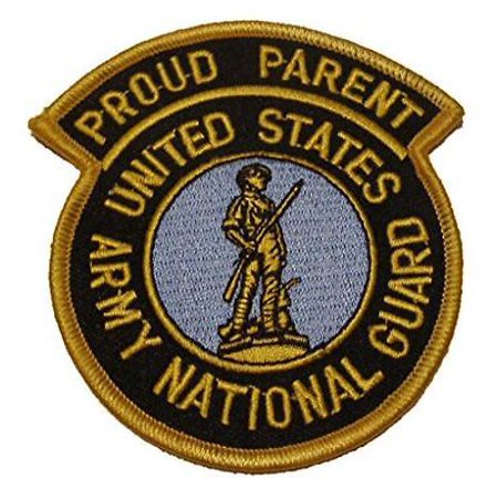 US ARMY NATIONAL GUARD ANG PROUD PARENT PATCH MOM DAD MOTHER FATHER STEP PARENT