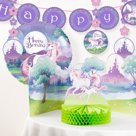 (Unicorn Fantasy Birthday Party Decorations Kit)