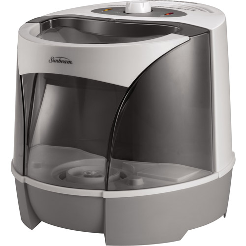Sunbeam Warm Mist Humidifier, White, SWM6000-UM