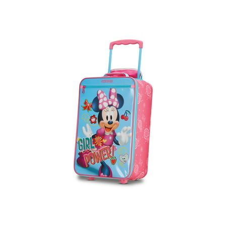 American Tourister Disney Minnie Mouse 18'' Softside Kids Carry-on Luggage American Tourister Mesh Carry On
