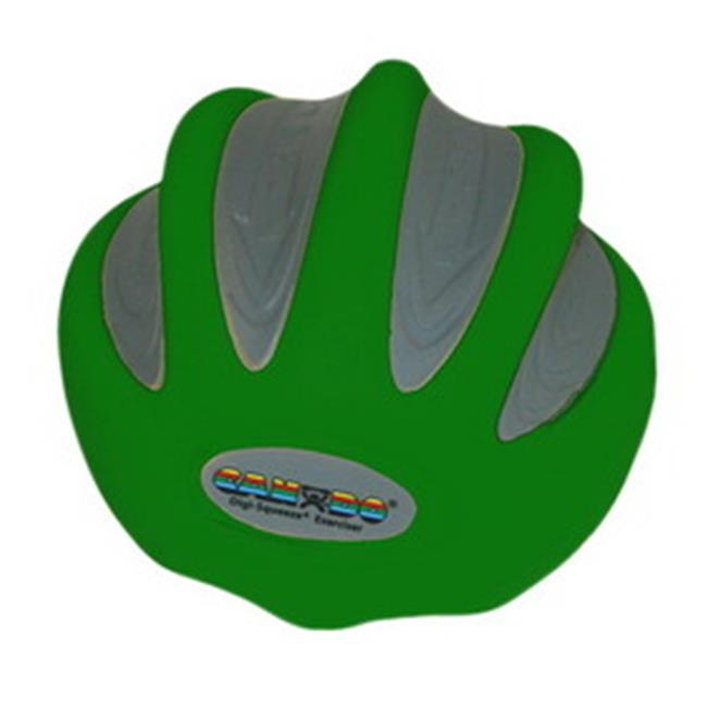 Fabrication Enterprises 10-1992 Cando Digi-Squeeze Hand & Finger Exerciser, Medium, Green - Large
