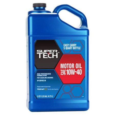 Supertech Super Tech 10w40 Conventional Motor Oil