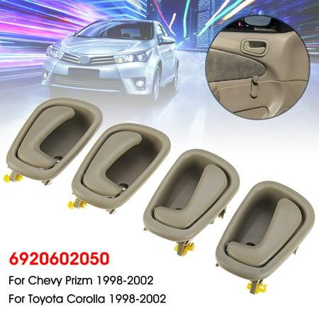 Set of 4 Interior Door Handle For Toyota Corolla Chevy 1998 1999 2000 2001 2002 6920602050