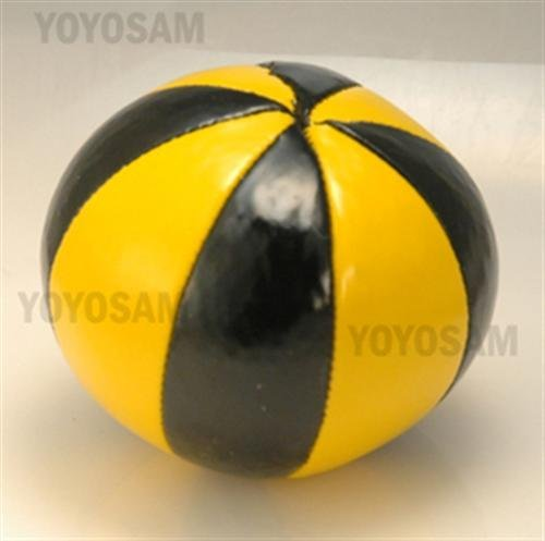 Higgins Brothers 8 Panel Profesional Juggling Ball - Yellow and Black