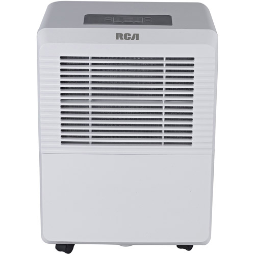 RCA 50-Pint Dehumidifier, White