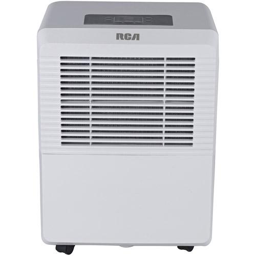 RCA 50-Pint Dehumidifier, White