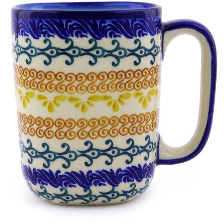 Polmedia 10 oz Polish Pottery Coffee Mug ()