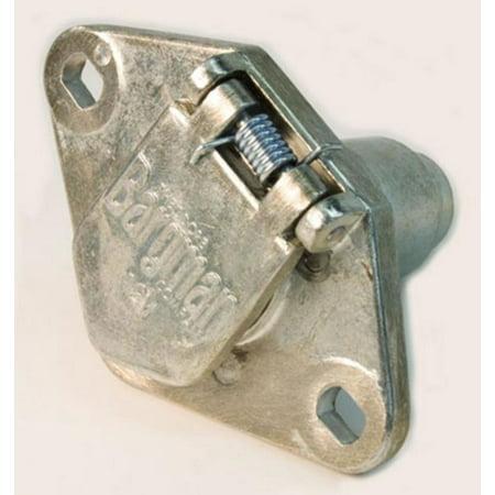 Zinc Die - Cequent 50-60-001 (50) 6-Way Zinc Die Cast Connectors - Car End - Bulk