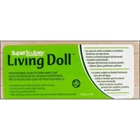 Sculpey Living Doll Clay: Beige, 1 pound