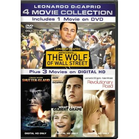 Leonardo DiCaprio 4-Movie Collecion (DVD)