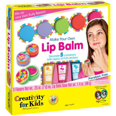 Creativity for Kids Make Your Own Lip Balm Craft
