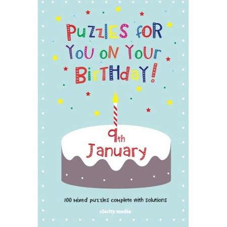 Puzzles for You on Your Birthday - 9th January