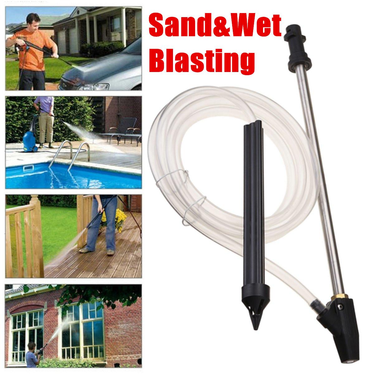 Sand Blasting Sandblaster Attachment Nozzle For Karcher K Series Pressure Washer