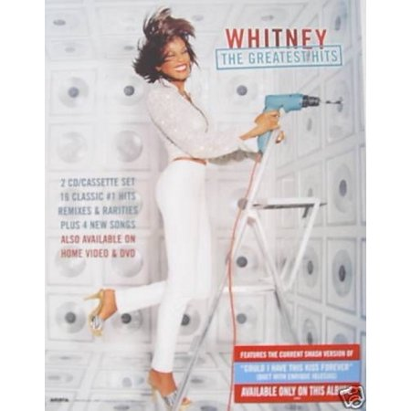 Whitney Houston Greatest Hits Poster (Whitney Houston Halloween)