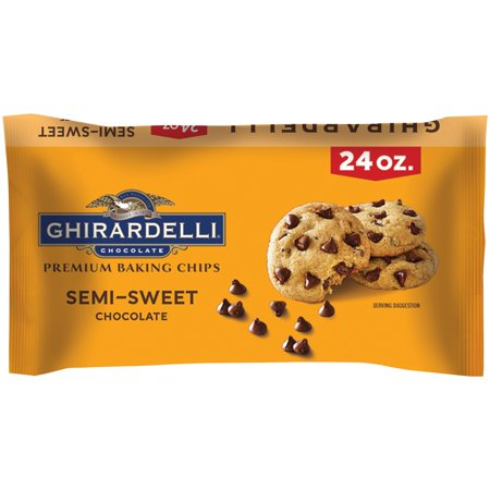 Ghirardelli Choc Ghirardelli Semi Sweet Baking Chips 24 (Trader Joes Semi Sweet Chocolate Chips Nutrition Facts)