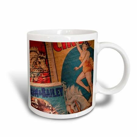 3dRose Florida, Sarasota, Ringling Museum, Circus Museum - US10 WBI0587 - Walter Bibikow, Ceramic Mug, 11-ounce