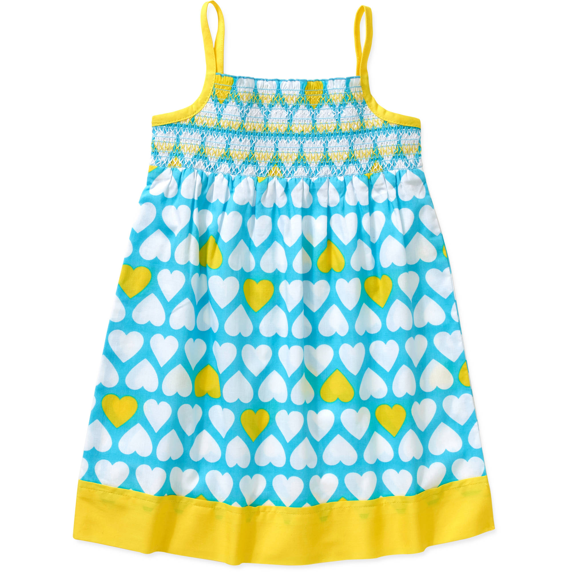 Healthtex Baby Toddler Girl Essential Summer Smocked Woven Dress