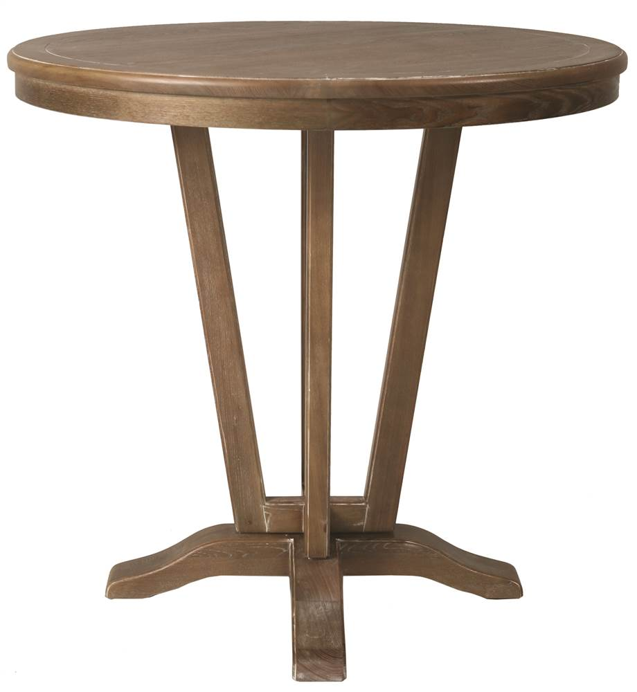 Pub Table in Distressed Charcoal Finish