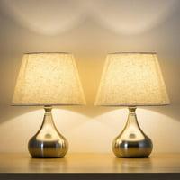 Deals on Set of 2 Unique Elegant Bedside Desk Lamps